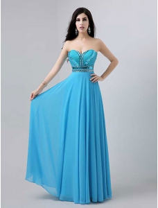 Sleeveless Ruched Chiffon Prom Dress with Sequins
